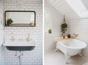 Terrific bathroom tile trim ideas #bathroomtileideas #showertile #bathroomtilefloor