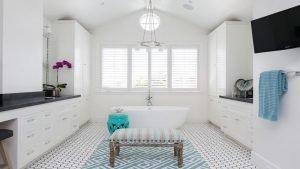 Life-changing tile walk in shower #bathroomtileideas #showertile #bathroomtilefloor