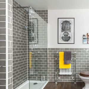 Unique large shower tile #bathroomtileideas #showertile #bathroomtilefloor