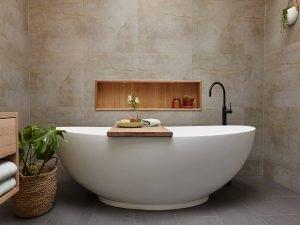 Spectacular tiles for small bathroom floor #bathroomtileideas #showertile #bathroomtilefloor