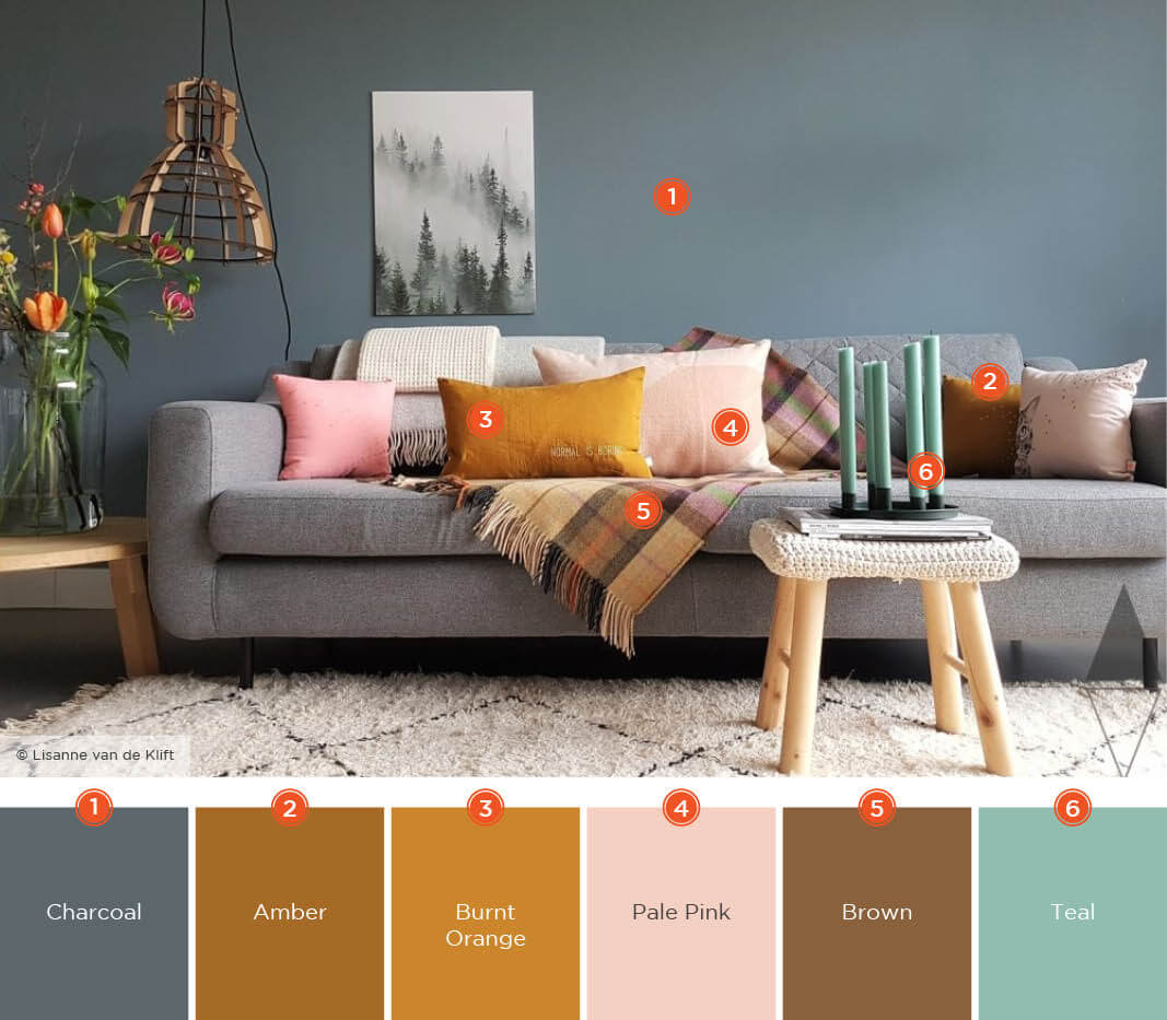 57 Living Room Color Schemes To Make Harmony In Yours
