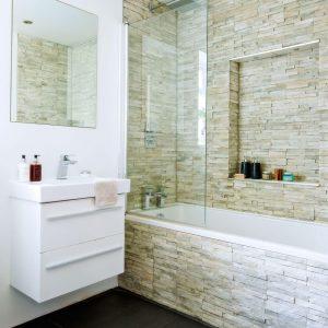 Marvelous tile floor for small bathroom #bathroomtileideas #showertile #bathroomtilefloor