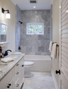 Miraculous small bathroom tile ideas #bathroomtileideas #showertile #bathroomtilefloor