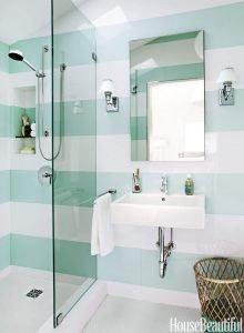 Amazing shower corner shelf tile #bathroomtileideas #showertile #bathroomtilefloor