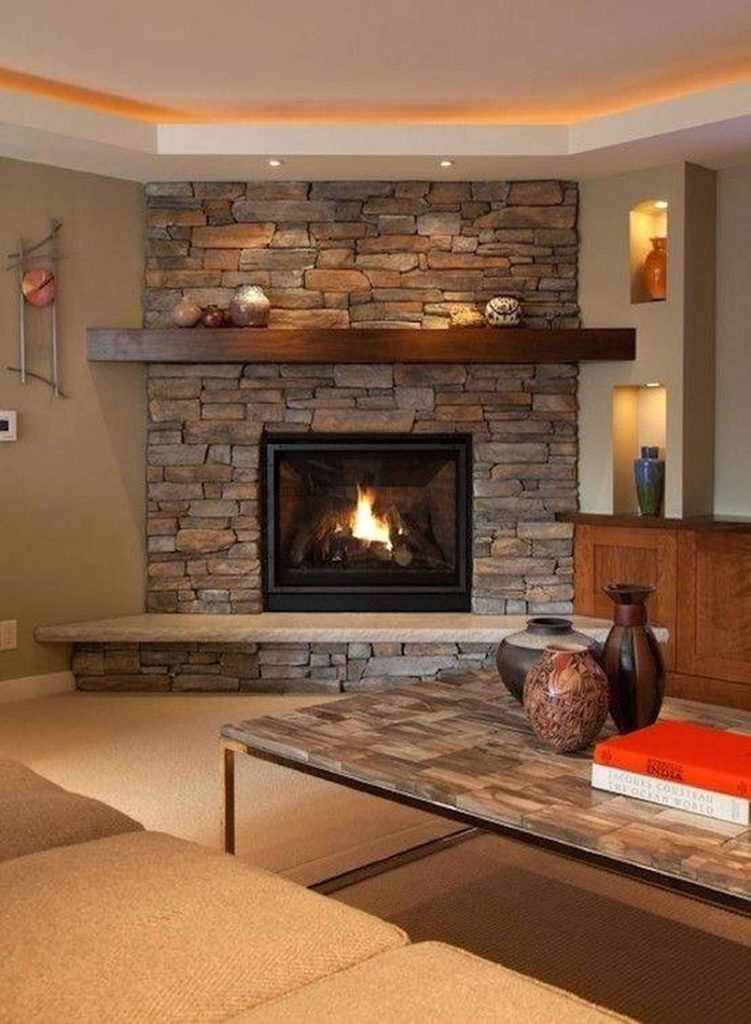 50 Fantastic Corner Fireplace Ideas Make Your Room Feel