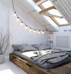 Awesome loft design ideas #atticbedroomideas #atticroomideas #loftbedroomideas