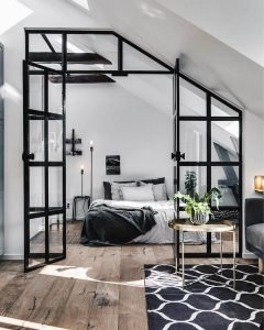 Unbelievable converted attic bedroom ideas #atticbedroomideas #atticroomideas #loftbedroomideas