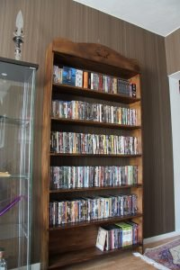Gorgeous slim dvd storage ideas #dvdstorageideas #cddvdstorage #dvdrack