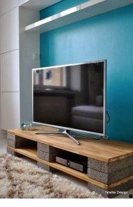 Brilliant diy pallet tv stand instructions #DIYTVStand #TVStandIdeas #WoodenTVStand
