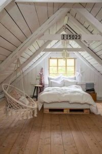 Fantastic attic style bedroom ideas #atticbedroomideas #atticroomideas #loftbedroomideas