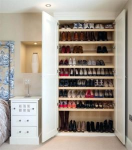 Eye-opening great shoe storage ideas #shoestorageideas #shoerack #shoeorganizer