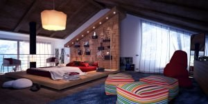Unleash attic room ideas #atticbedroomideas #atticroomideas #loftbedroomideas