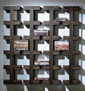 Astonishing dvd storage ideas for your home #dvdstorageideas #cddvdstorage #dvdrack