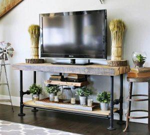 Miraculous diy 70 inch tv stand #DIYTVStand #TVStandIdeas #WoodenTVStand