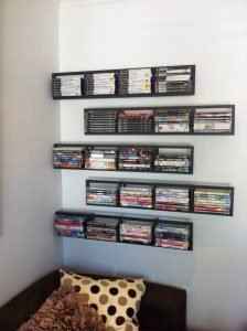 Staggering cd holder book #dvdstorageideas #cddvdstorage #dvdrack