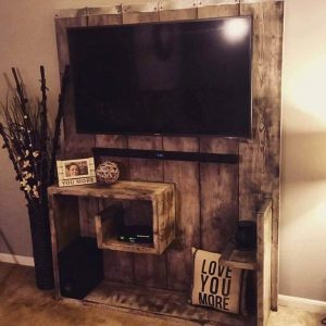 60+ Creative DIY TV Stand Ideas On A Budget for Your Home