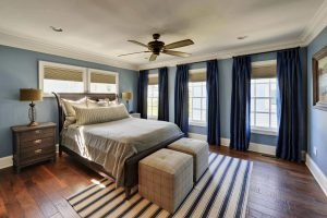 Fabulous bedroom curtain color ideas #bedroomcurtainideas #bedroomcurtaindrapes #windowtreatment