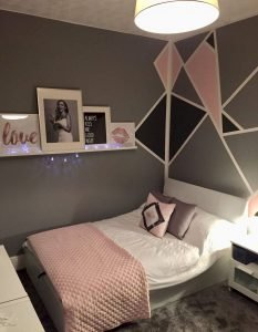 Marvelous teenage girl wall paint ideas #teenagegirlbedroomideas #teengirlsroom #girlsbedroomideas