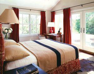 Brilliant elegant bedroom curtain ideas #bedroomcurtainideas #bedroomcurtaindrapes #windowtreatment