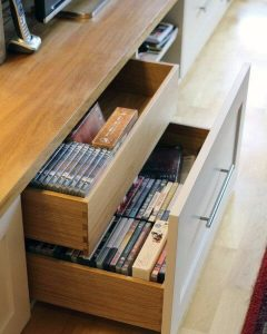 Miraculous homemade dvd storage ideas #dvdstorageideas #cddvdstorage #dvdrack