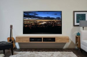 Famous diy tv stand on wheels #DIYTVStand #TVStandIdeas #WoodenTVStand