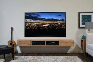 Famous diy tv stand on wheels #DIYTVStand #TVStandIdeas #WoodenTVStand