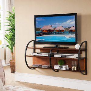 Gorgeous diy tv stand with sliding doors #DIYTVStand #TVStandIdeas #WoodenTVStand