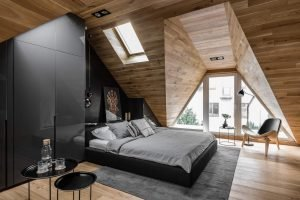 Extraordinary small attic room design ideas #atticbedroomideas #atticroomideas #loftbedroomideas