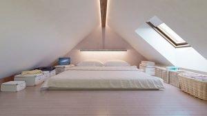 Famous large attic bedroom ideas #atticbedroomideas #atticroomideas #loftbedroomideas