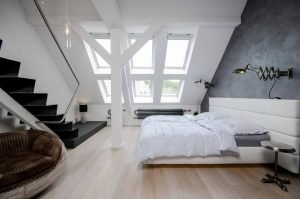 Staggering attic bathroom ideas #atticbedroomideas #atticroomideas #loftbedroomideas