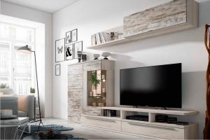 Phenomenal diy corner tv stand ideas #DIYTVStand #TVStandIdeas #WoodenTVStand