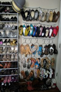 Astonishing closet shoe storage #shoestorageideas #shoerack #shoeorganizer