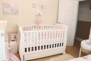 Fantastic baby girl nursery ideas gray and pink #babygirlroomideas #babygirlnurseryideas #babygirlroom