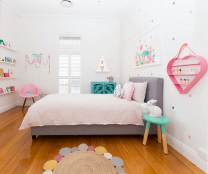 Wonderful kids room wall decor #kidsbedroomideas #kidsroomideas #littlegirlsbedroom