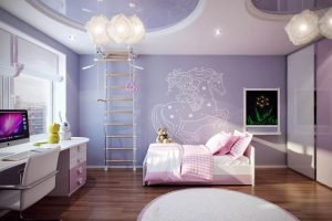 Unique retro teenage girl bedroom ideas #teenagegirlbedroomideas #teengirlsroom #girlsbedroomideas