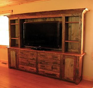 Unbeatable diy galvanized pipe tv stand #DIYTVStand #TVStandIdeas #WoodenTVStand