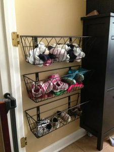 Sensational shoe rack bench #shoestorageideas #shoerack #shoeorganizer