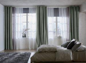 Epic red bedroom curtain ideas #bedroomcurtainideas #bedroomcurtaindrapes #windowtreatment