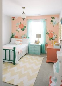 Stunning teenage girl bedroom ideas turquoise #teenagegirlbedroomideas #teengirlsroom #girlsbedroomideas