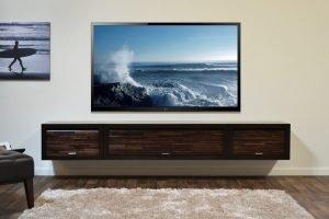 Spectacular diy tv stand out of dresser #DIYTVStand #TVStandIdeas #WoodenTVStand