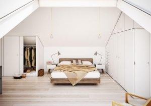 Glorious attic room design ideas #atticbedroomideas #atticroomideas #loftbedroomideas
