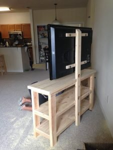 Astonishing diy tv stand reclaimed wood #DIYTVStand #TVStandIdeas #WoodenTVStand