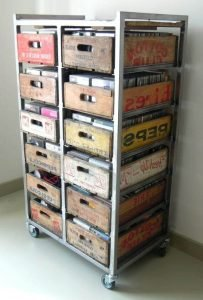 Brilliant craft storage desk #dvdstorageideas #cddvdstorage #dvdrack