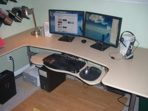 Unbelievable diy computer desk designs #diycomputerdesk #computerdeskorganization #computertable