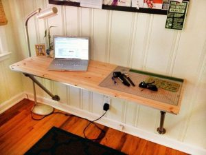 Breathtaking diy hidden computer desk #diycomputerdesk #computerdeskorganization #computertable