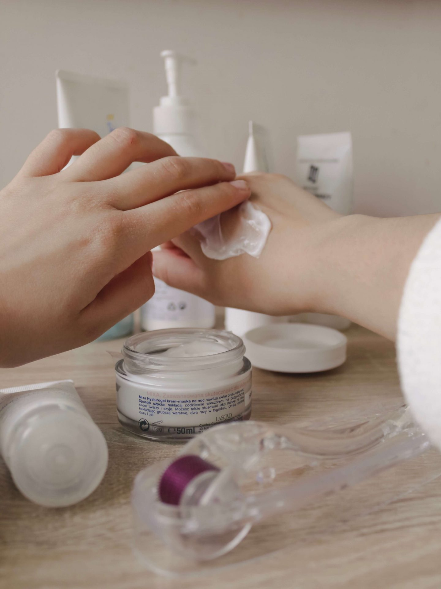 minimalist skin care routine